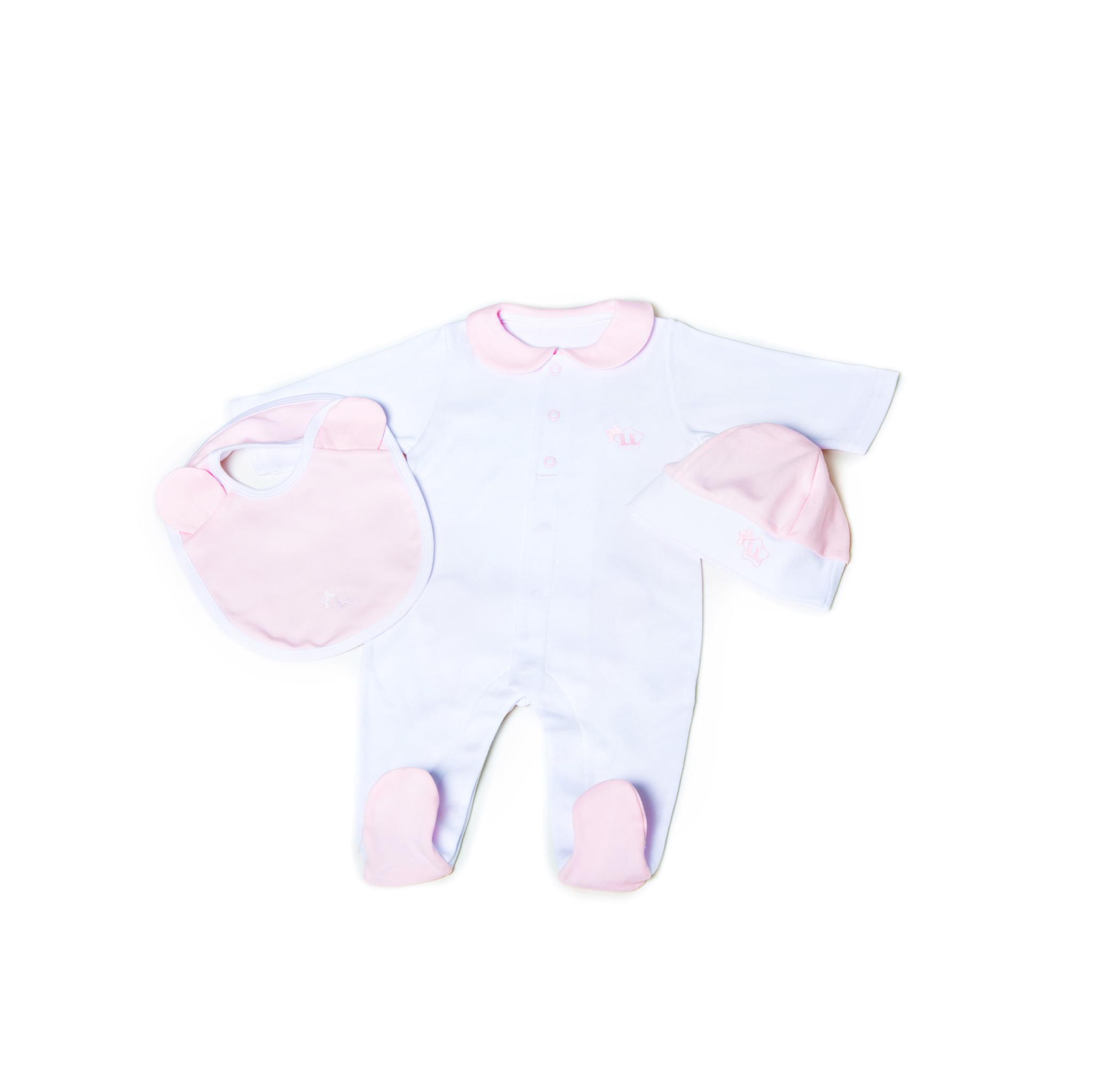 Little Lads & Ladies Pink Bear Bottom LL03
