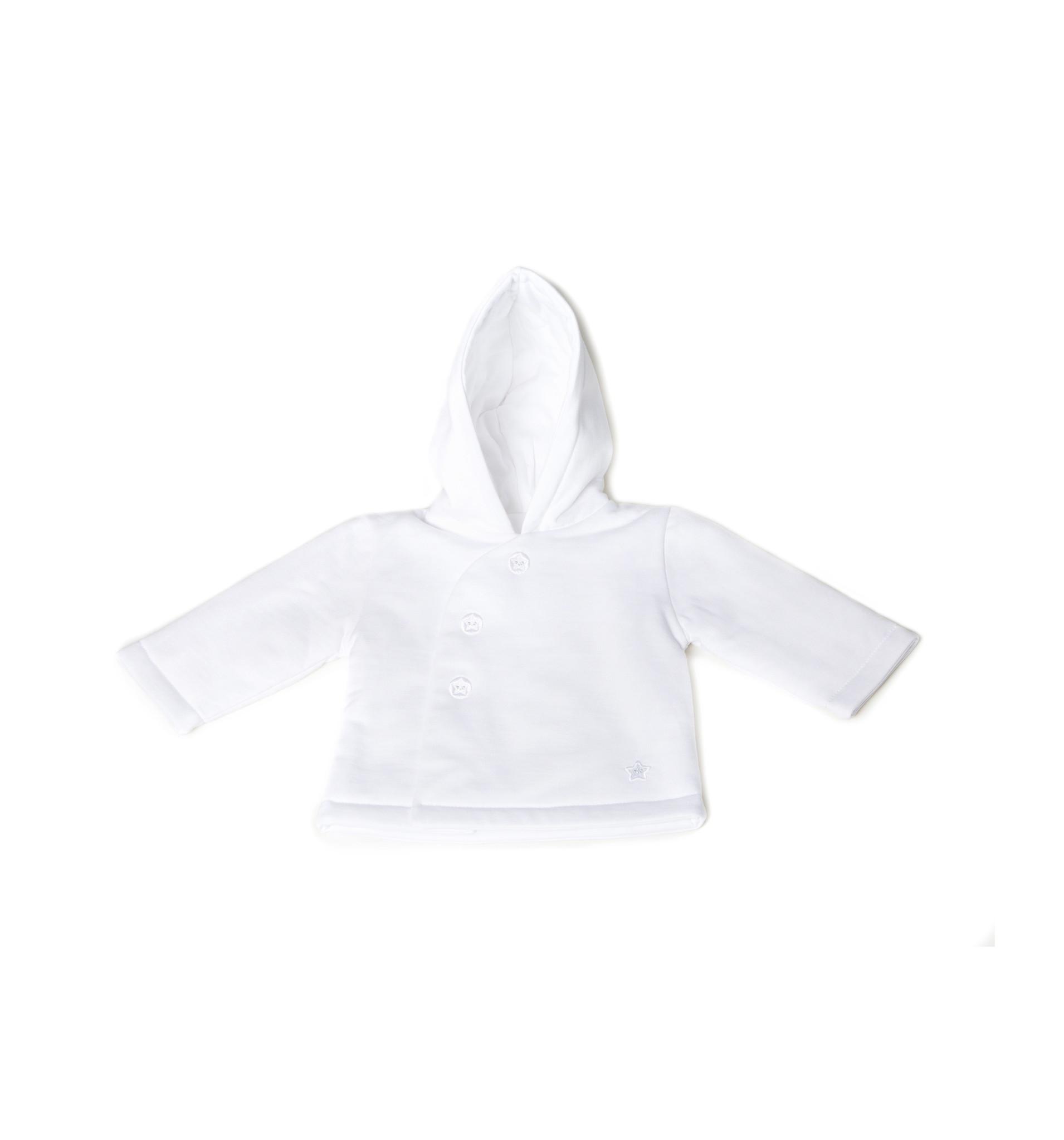Little Lads & Ladies White Pram Jacket LL06