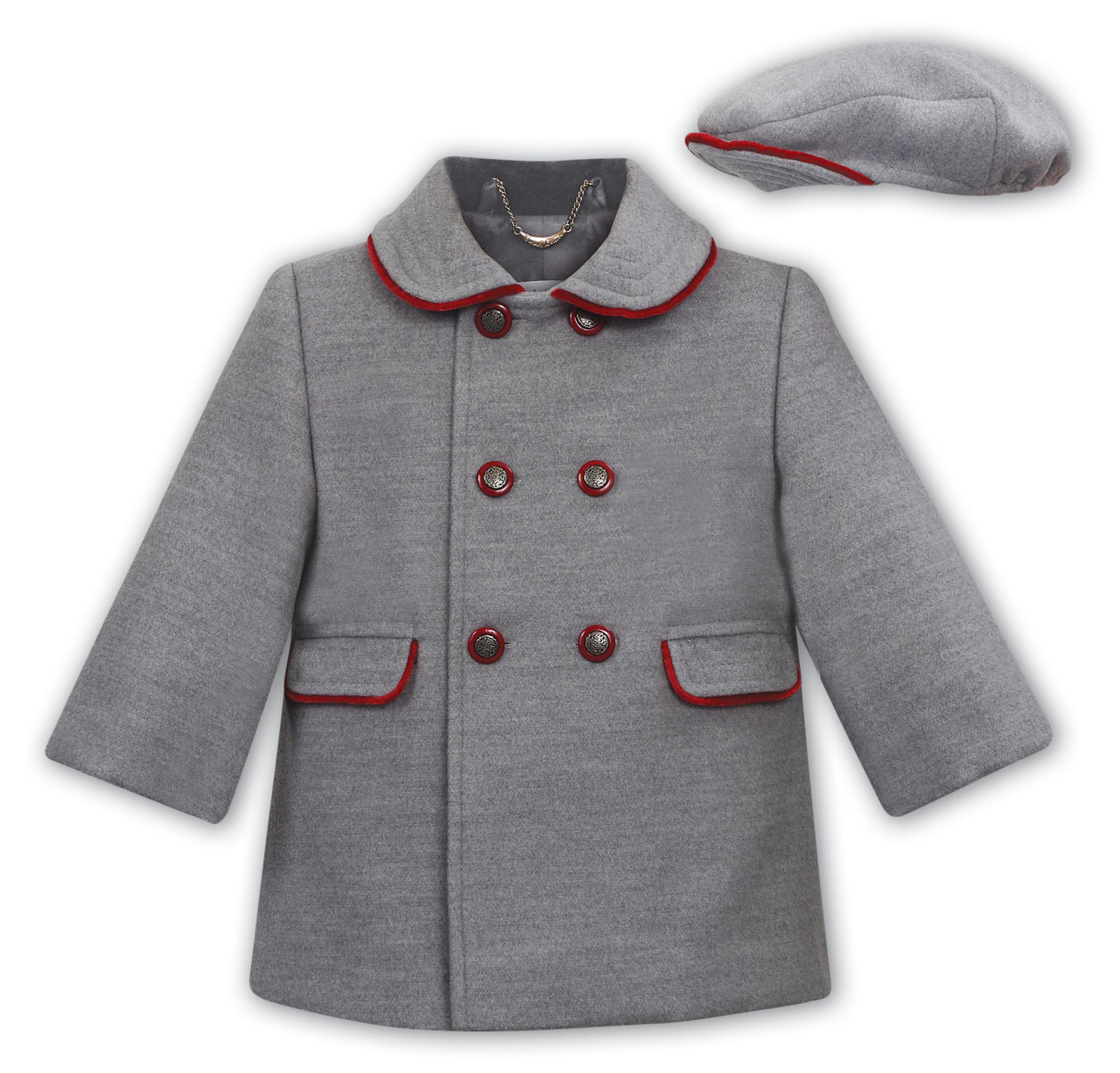 Sarah Louise Sarah Louise Traditional Grey Coat