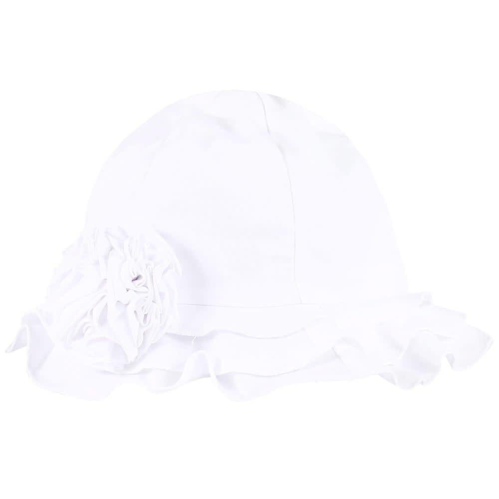 Sarah Louise Sarah Louise Ruffle Rose Summer Hat
