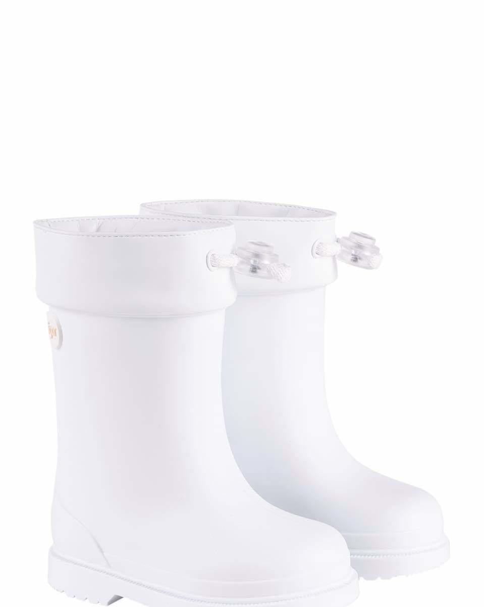 igor Igor White Toddler Rain Boot