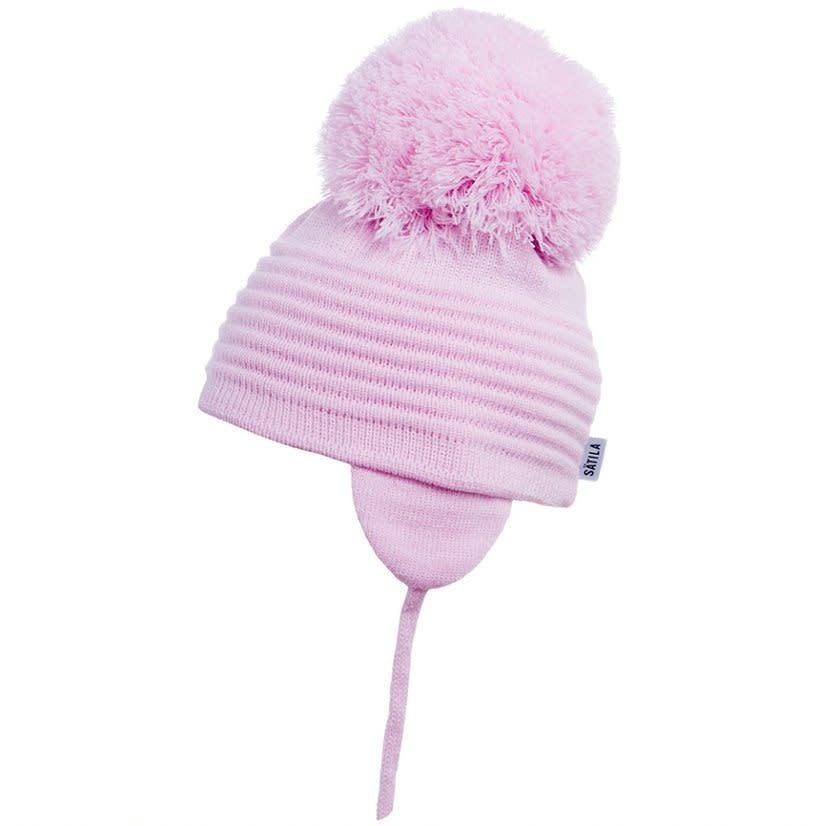 Satila Satila Millie Pink Pom Pom Hat