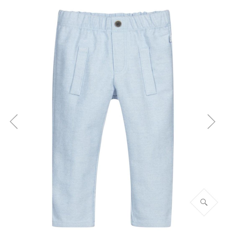 Absorba Absorba Boys Blue Cotton Trousers