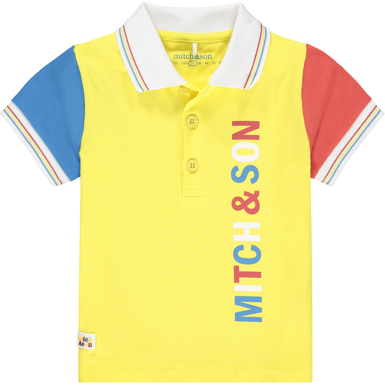 Mitch and Son Mitch & Son Carnoustie Set Colour Block Polo Set