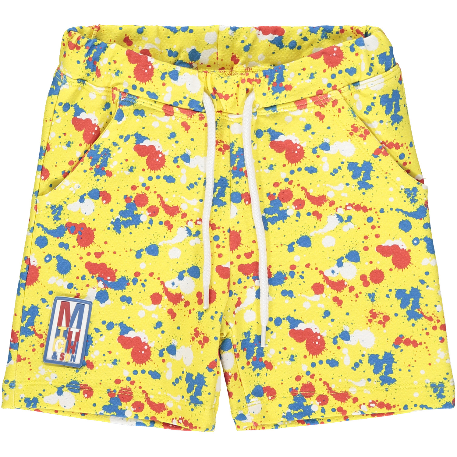 Mitch and Son Mitch & Son Clifton Splatter Sweat Short