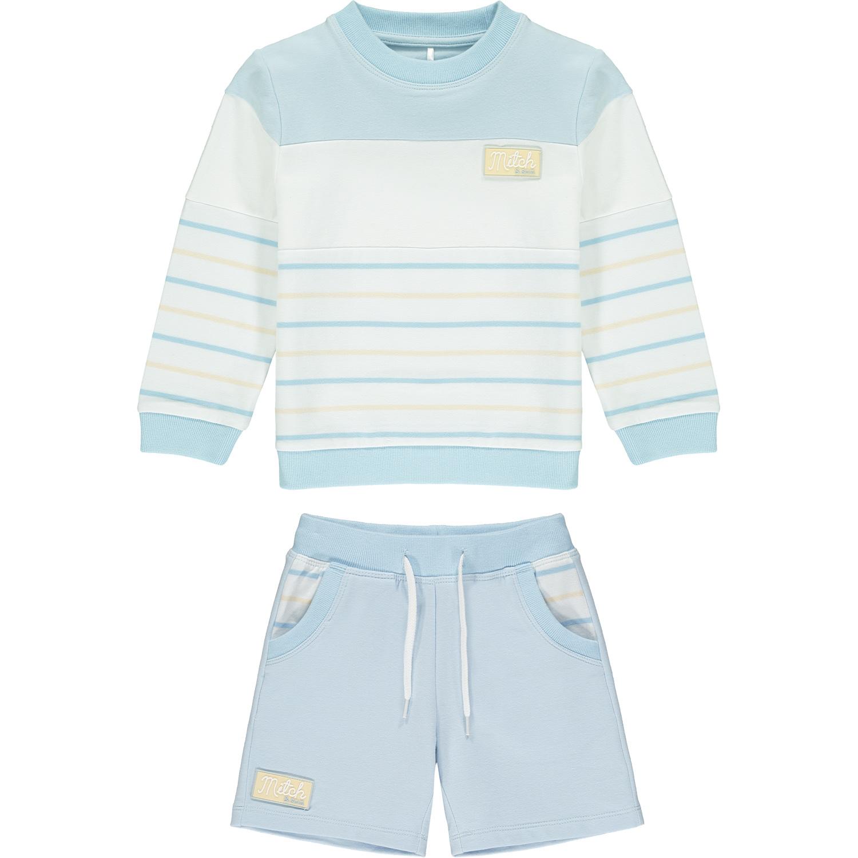 Mitch & Son Beltane Stripe Sweatshirt Set
