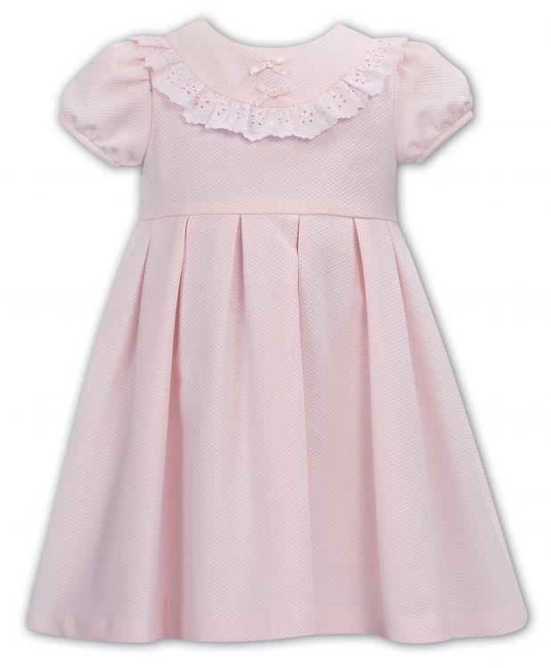Sarah Louise Dani By Sarah Louise Pink Short sleeved dress