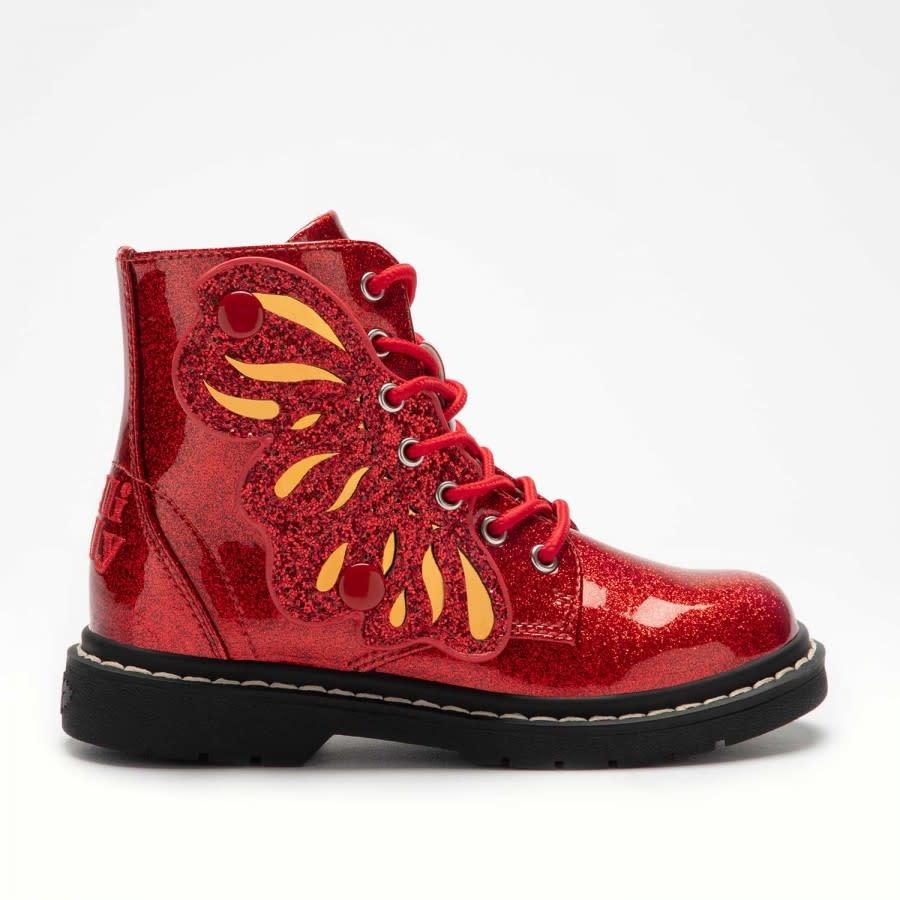 Lelli Kelly Lelli Kelly Fairy Wing Boots LK5544 RED