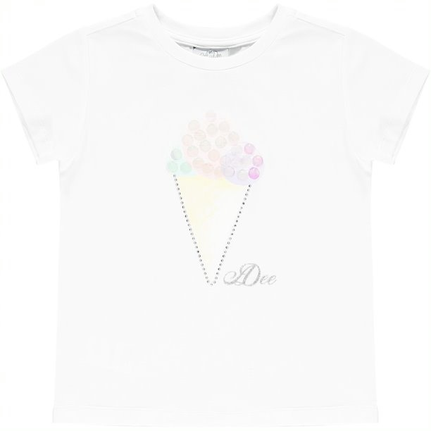 Adee Adee Olive Ice Cream Cone T-Shirt