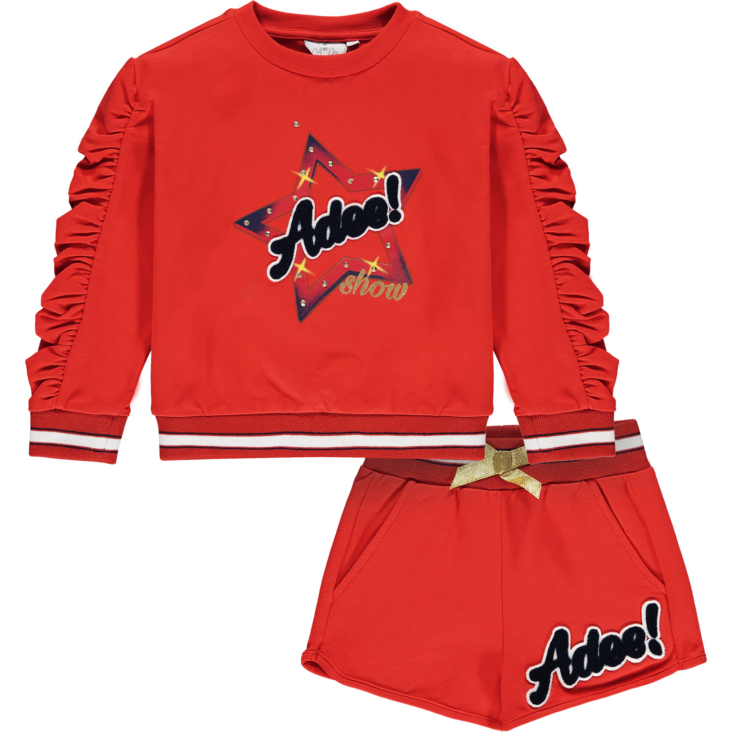 Adee Adee Milly Star Sweat Short Set