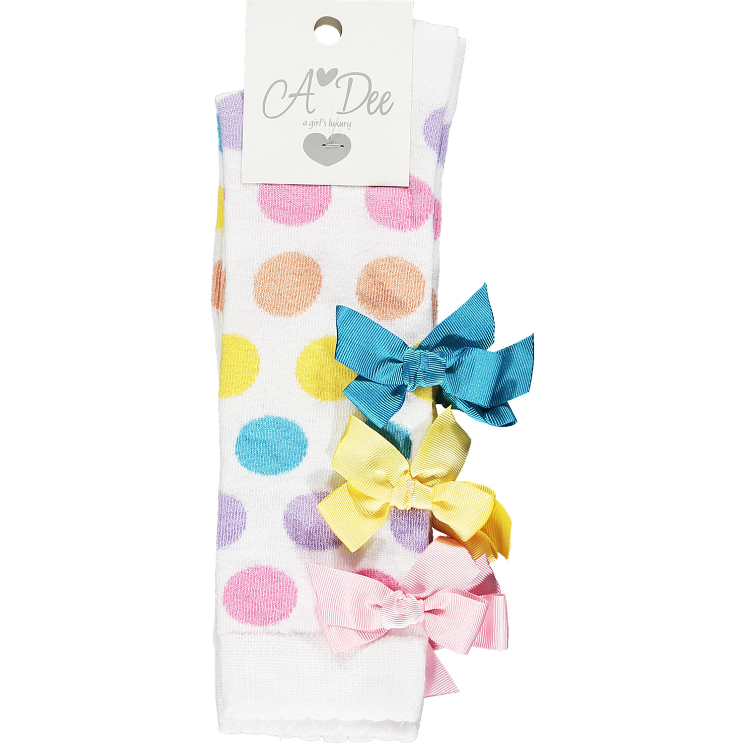 Adee Adee nicoletta Dotty Knee High Sock