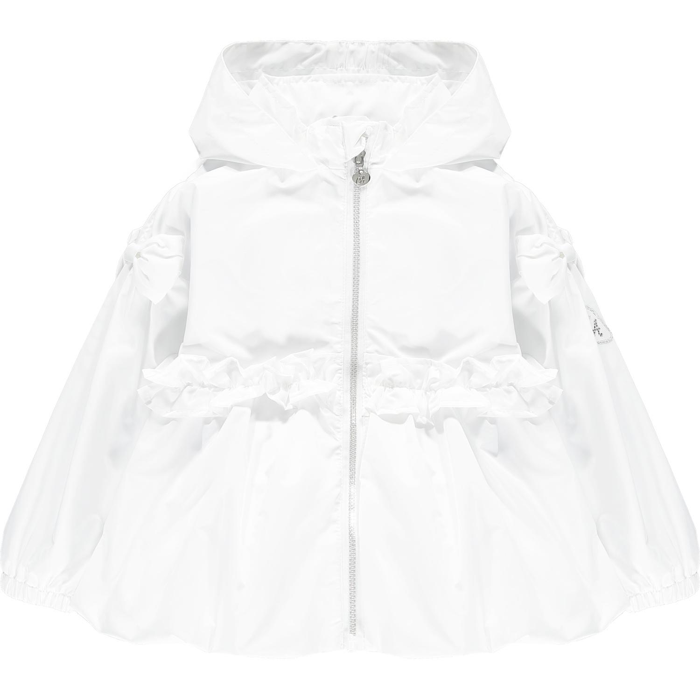 Adee Adee Nino Short Puffball White Jacket