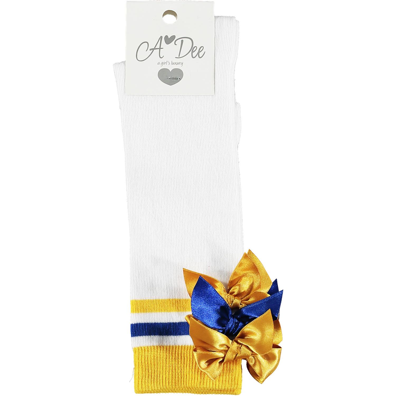 Adee Adee Leslie Ribbon Bow Knee High Sock