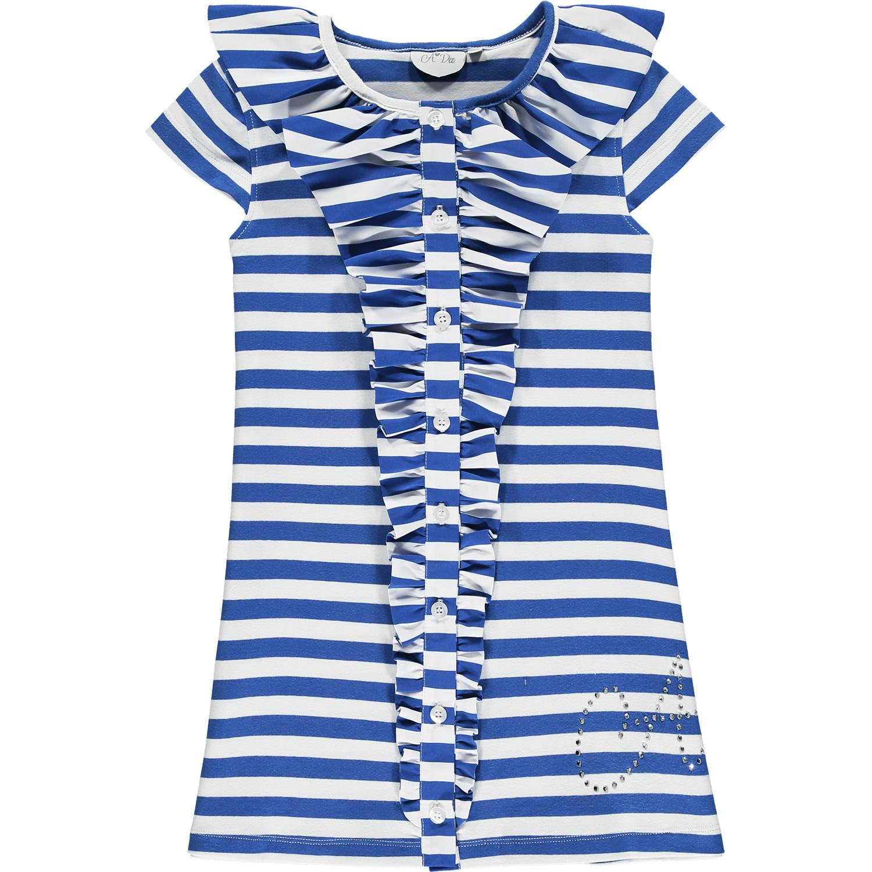 Adee Adee Latoya Stripe Middle Frill Dress