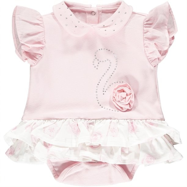 Little A Little A Jadine Frilly Romper