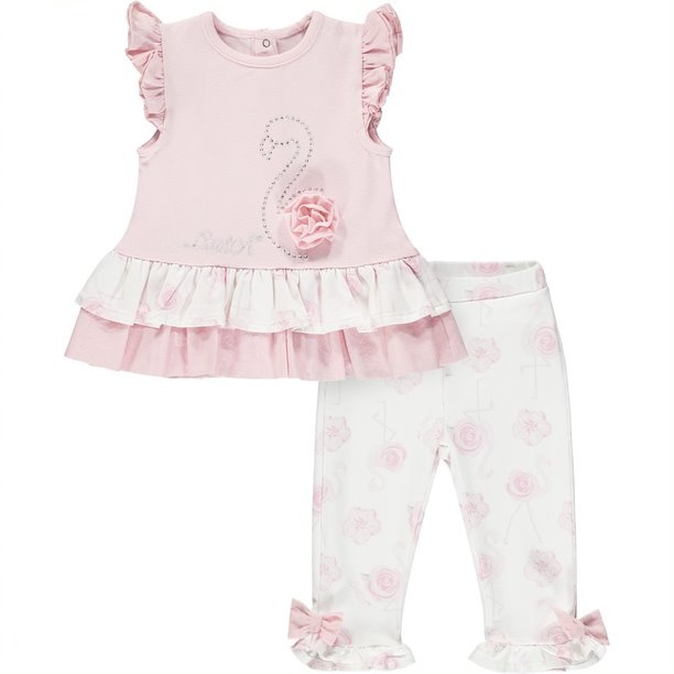 Little A Little A Jaffa Flamingo Legging Set
