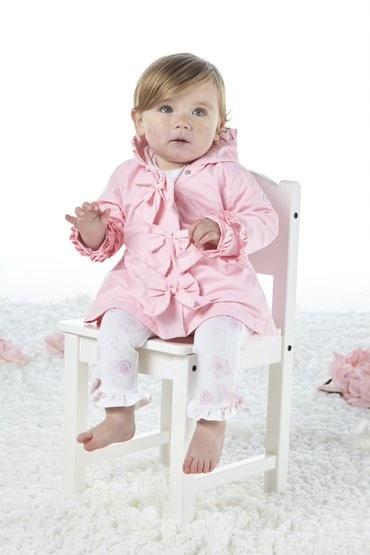 Little A Little A Jaydn Rose Button Jacket