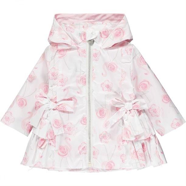 Little A Little A Jaeda Flamingo Print Jacket