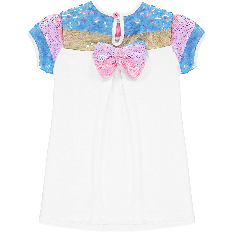 Adee Adee Nan Blue Jewel Sequin Tunic Set