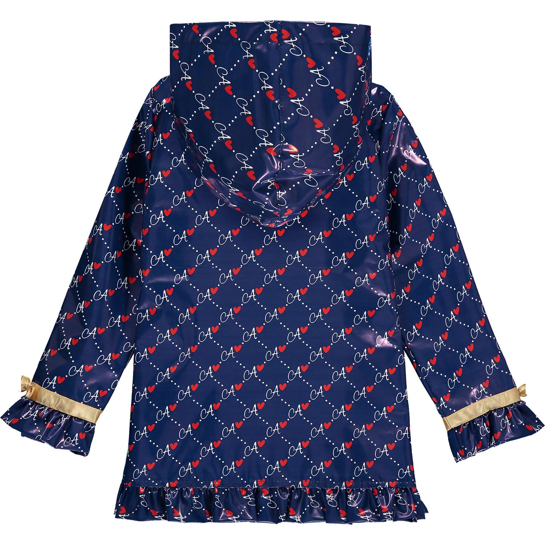 Adee Adee Macie A Print Raincoat