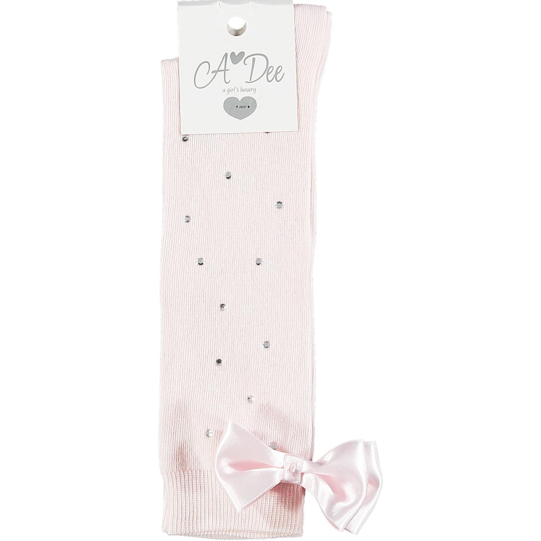 Adee Adee Othina Pink Sparkle Knee High Sock