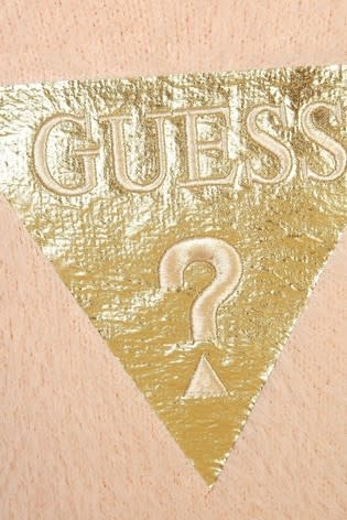 Guess Guess Pink Fluffy Knitted Dress