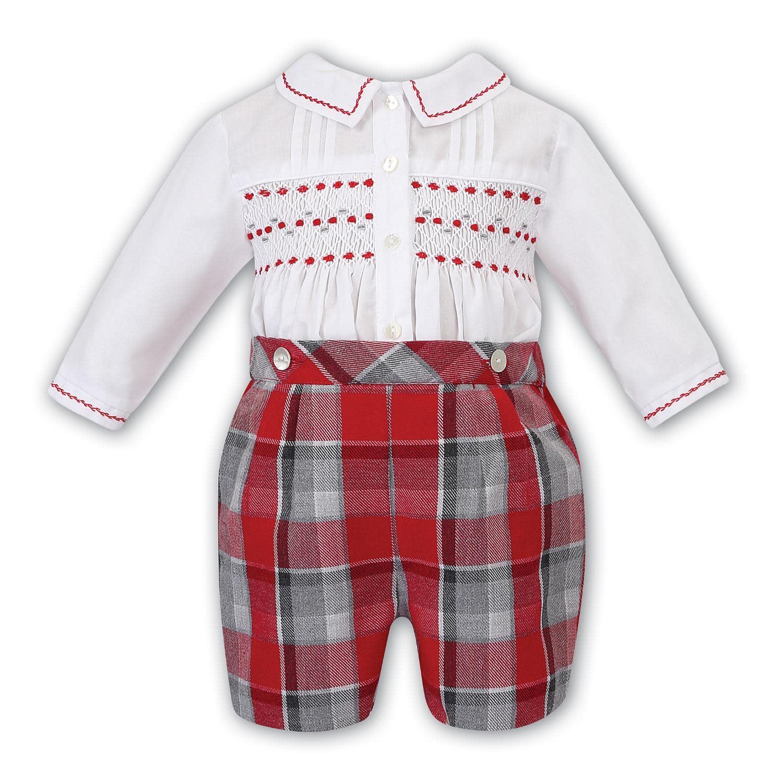 Sarah Louise 011730-2 Boys Shirt & Short Set