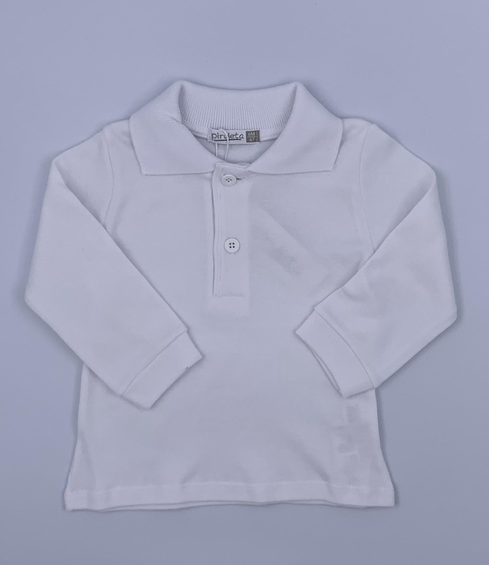 Piruleta Piruleta White Polo Shirt