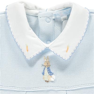 Mini La Mode Mini-La-Mode Blue Peter Rabbit Knit Romper