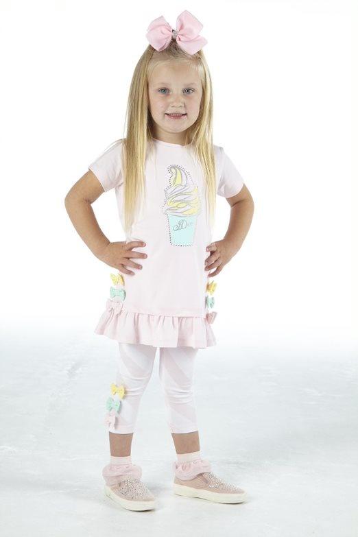 Adee Adee Olivia Stripe Legging Set