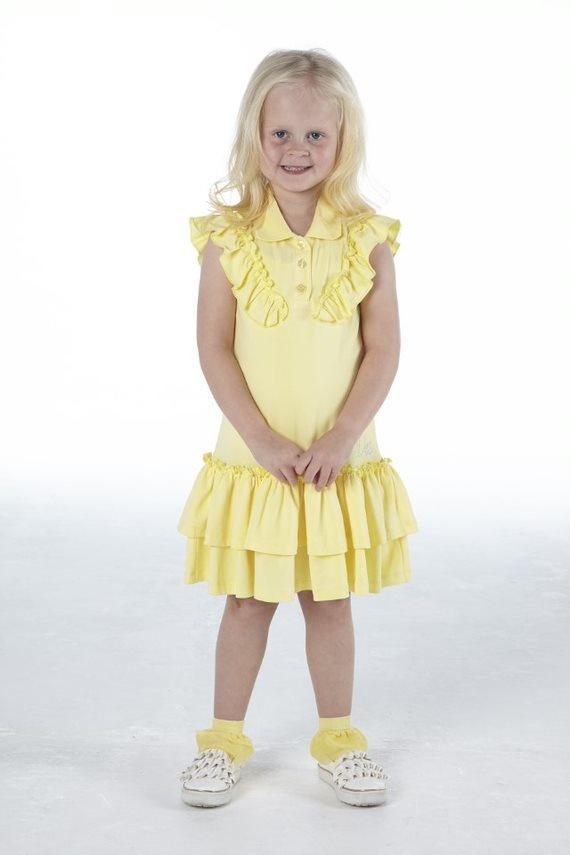 Adee Adee Orchid Lemon Cake Tennis Dress