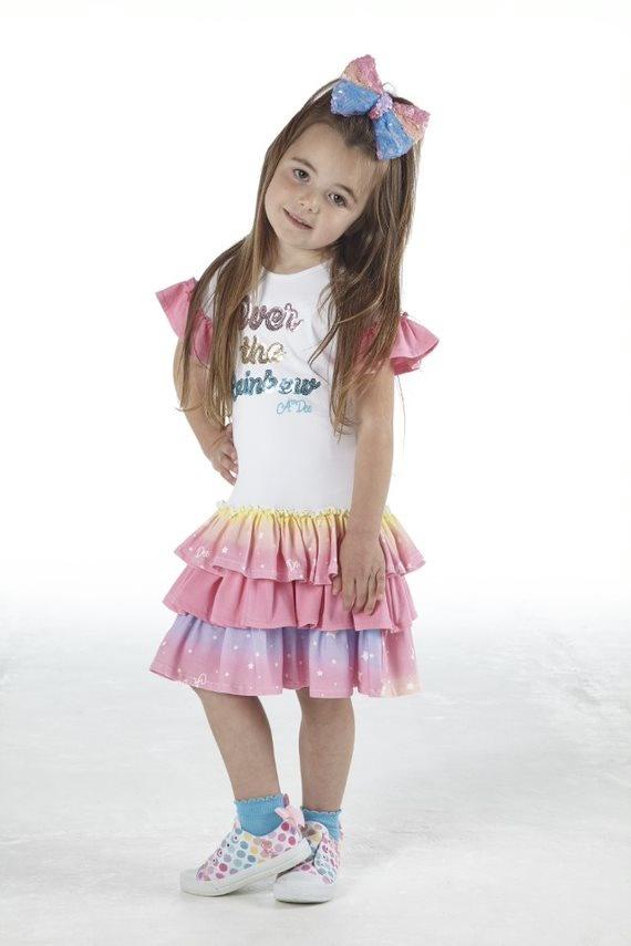 Adee Adee Nannette Over The Rainbow Dress