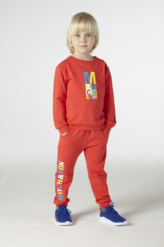Mitch and Son Mitch & Son Candleriggs Logo Tracksuit