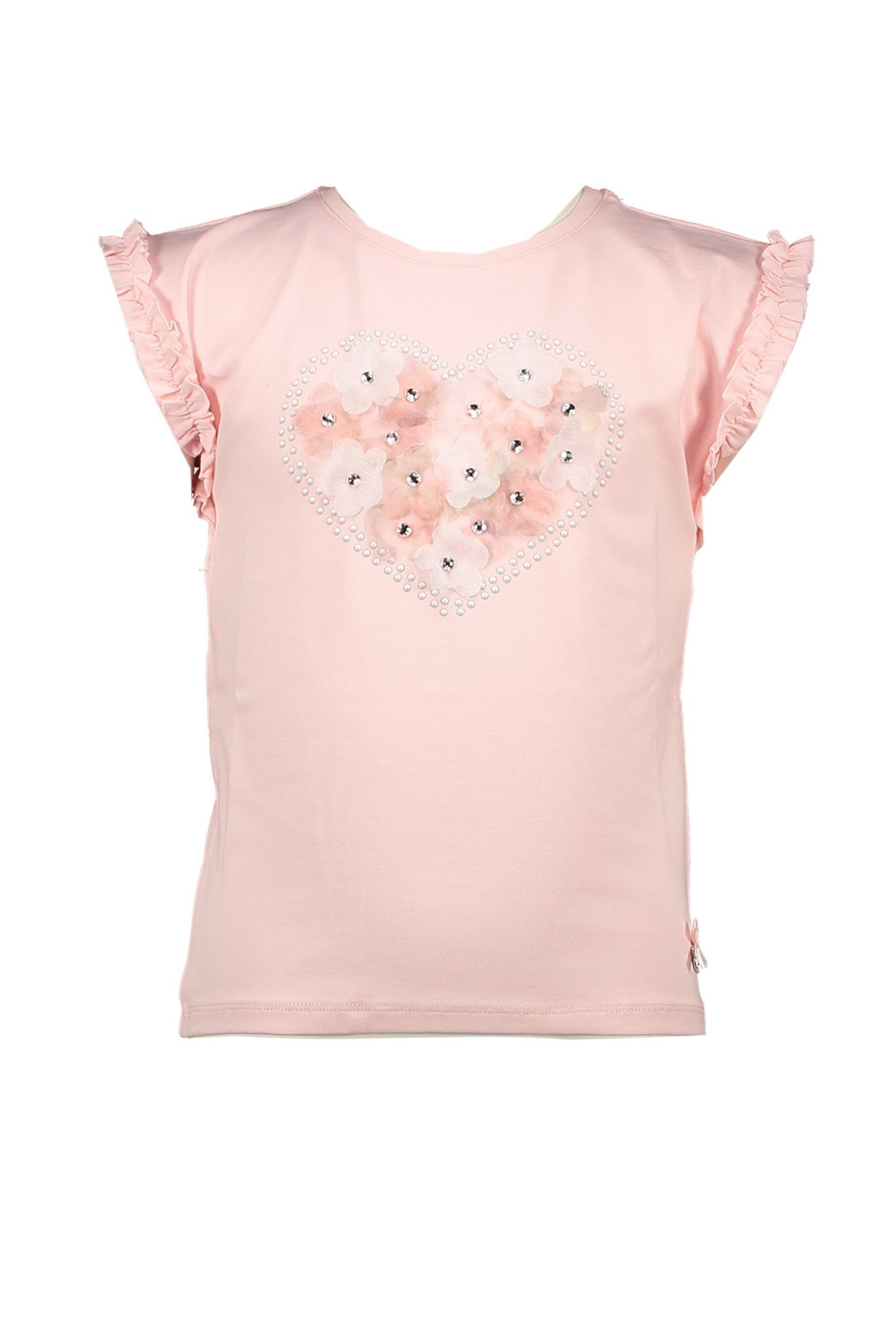 Lechic Le Chic Heart Shaped Flower T-Shirt