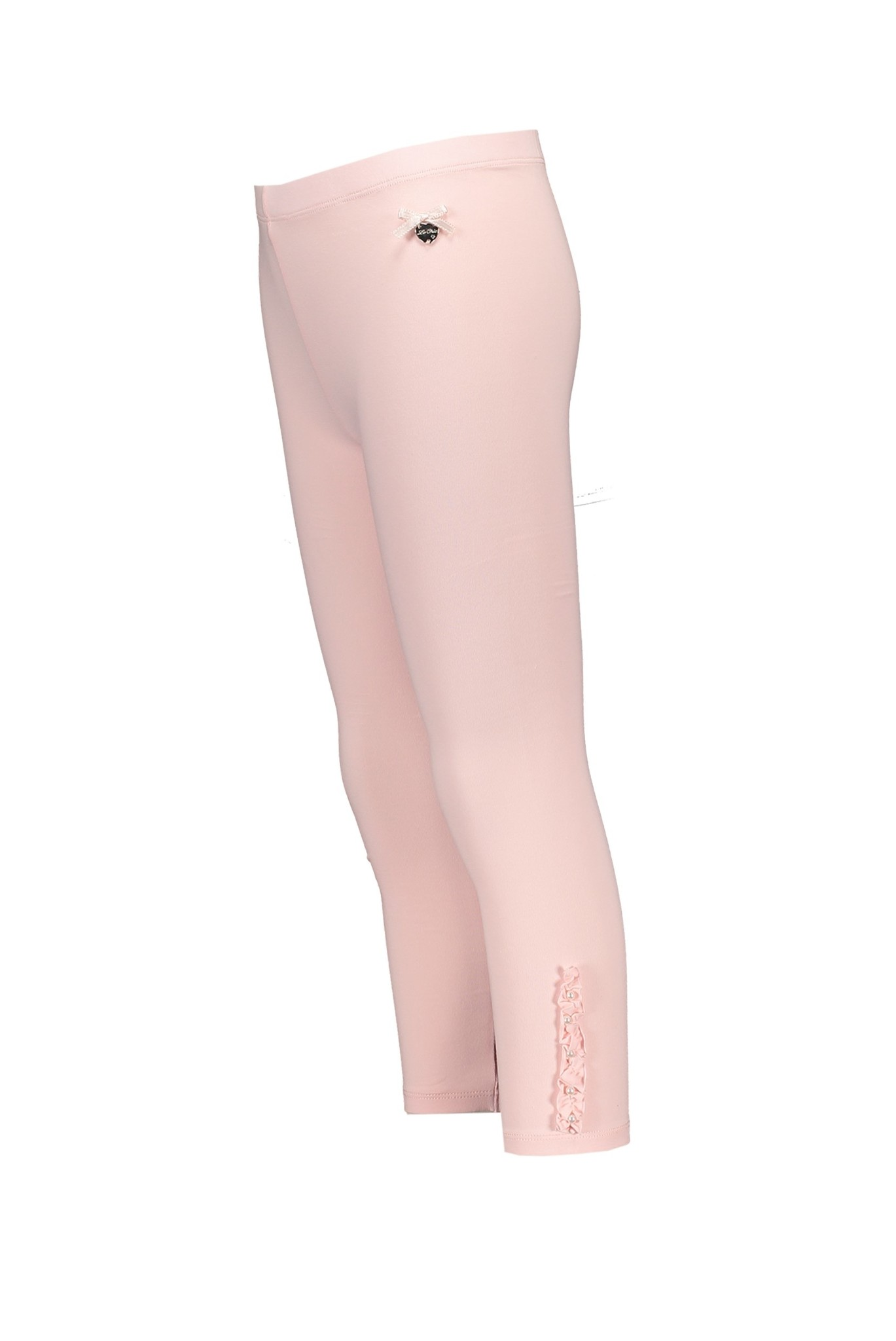 Lechic Le Chic Ruffle & Pearl Pink Legging