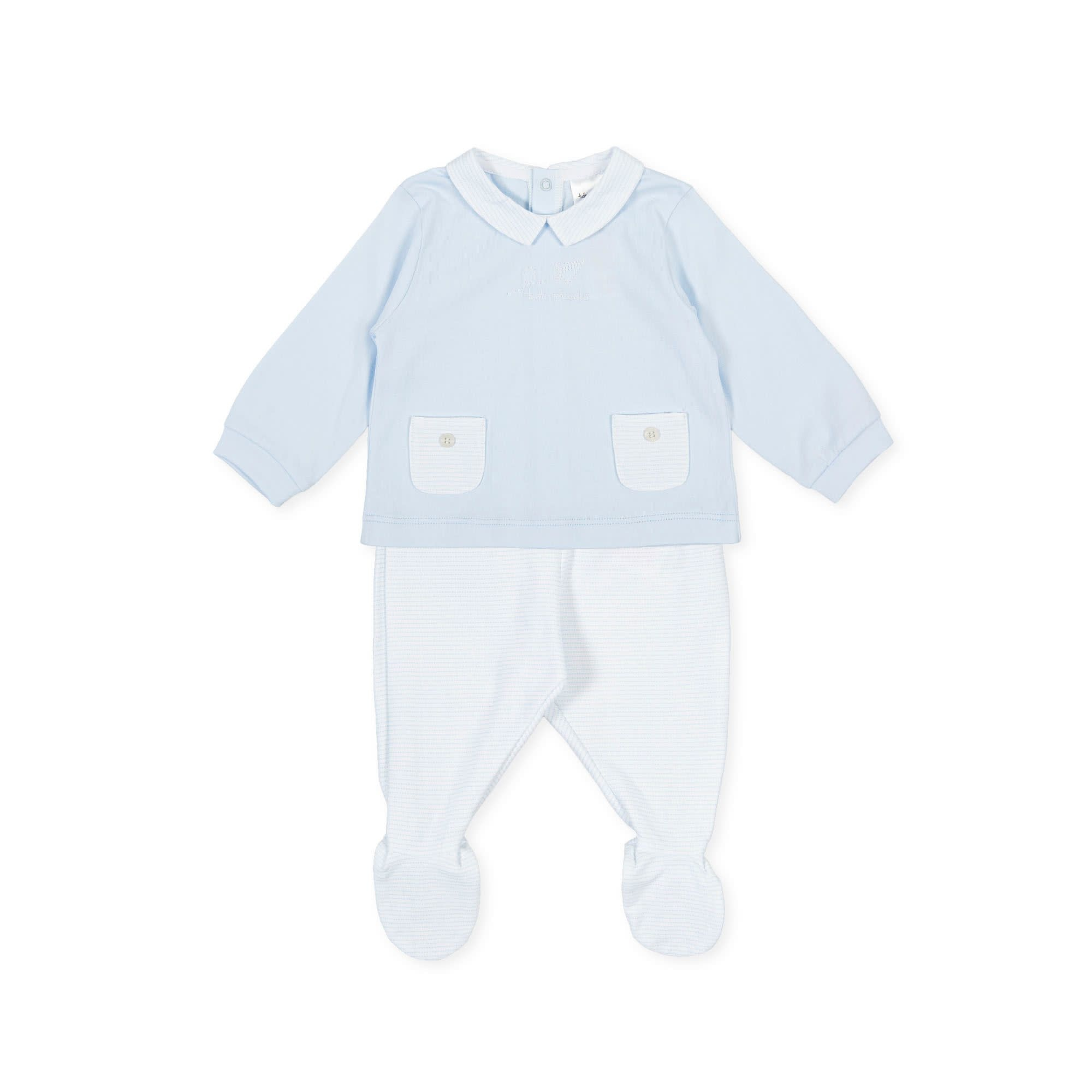 Tutto Piccolo 2 Piece Babygrow 1888s21