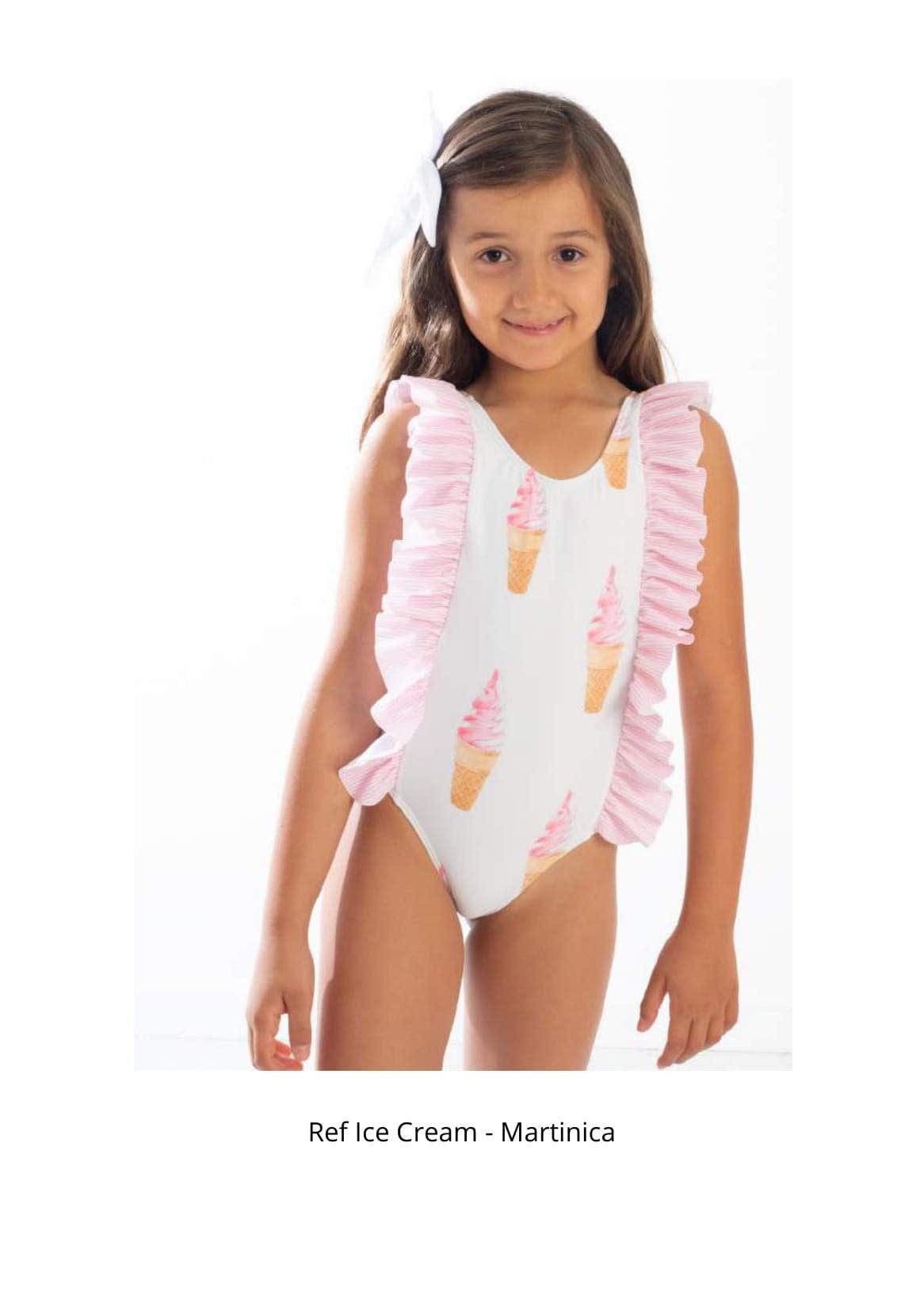 Meia Pata Meia Pata Martinica Ice-Cream Swimsuit 2-4YRS