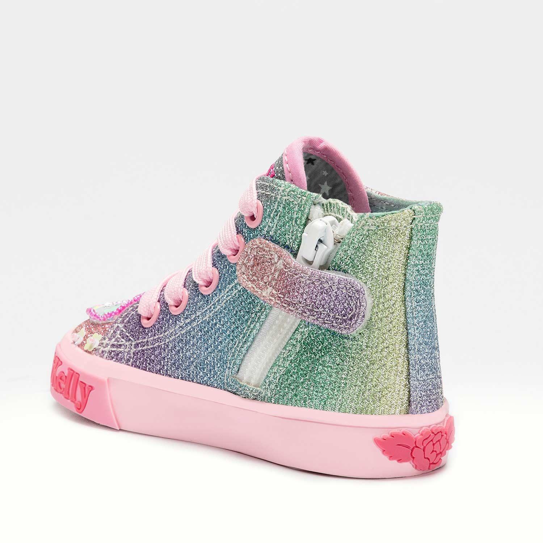 Lelli Kelly Unicorn Sparkle  HI-Top 7016