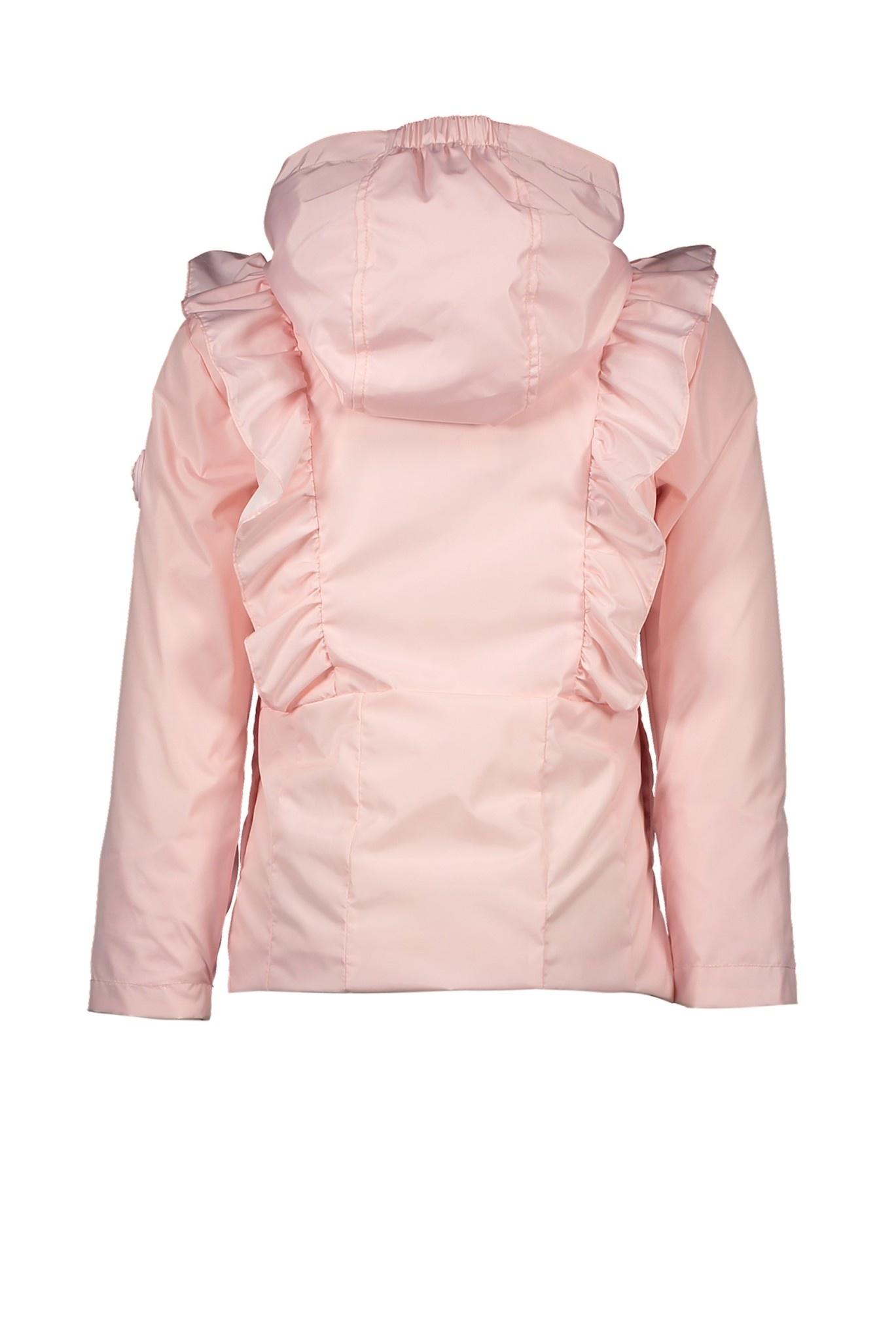 Lechic Le Chic Short Pink Ruffle Coat 5202