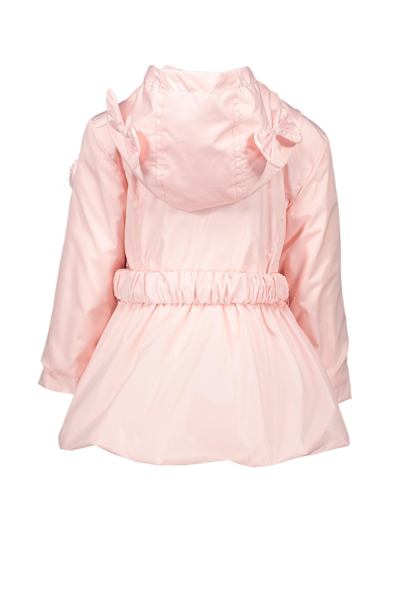 Lechic Le Chic Pink Bow Belt Coat 7209
