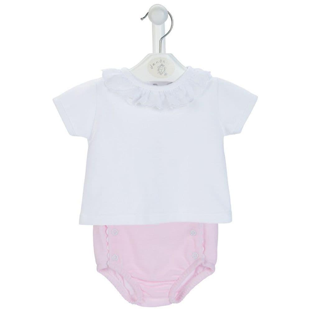 Dandelion Dandelion Girls Cotton Pique Pants & Top 6099