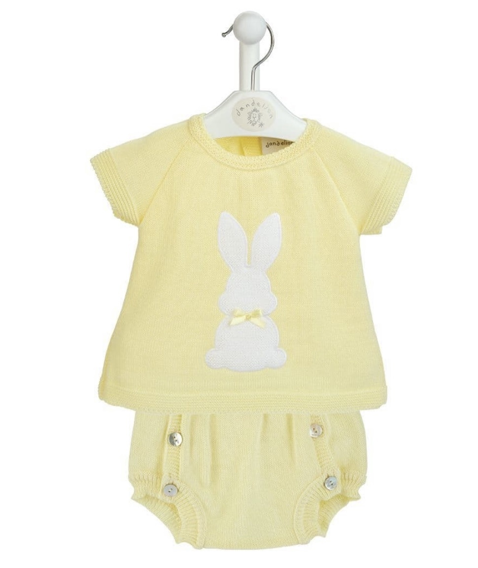 Dandelion Dandelion Bunny Top & Pants 3593 Yellow