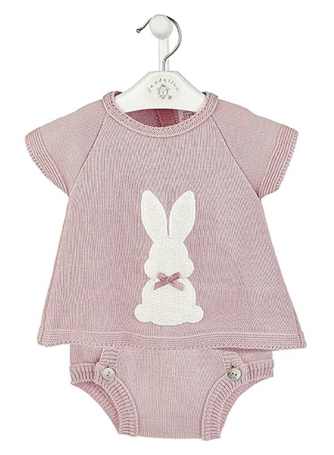 Dandelion Dandelion Bunny Top & Pants 3593 Pink