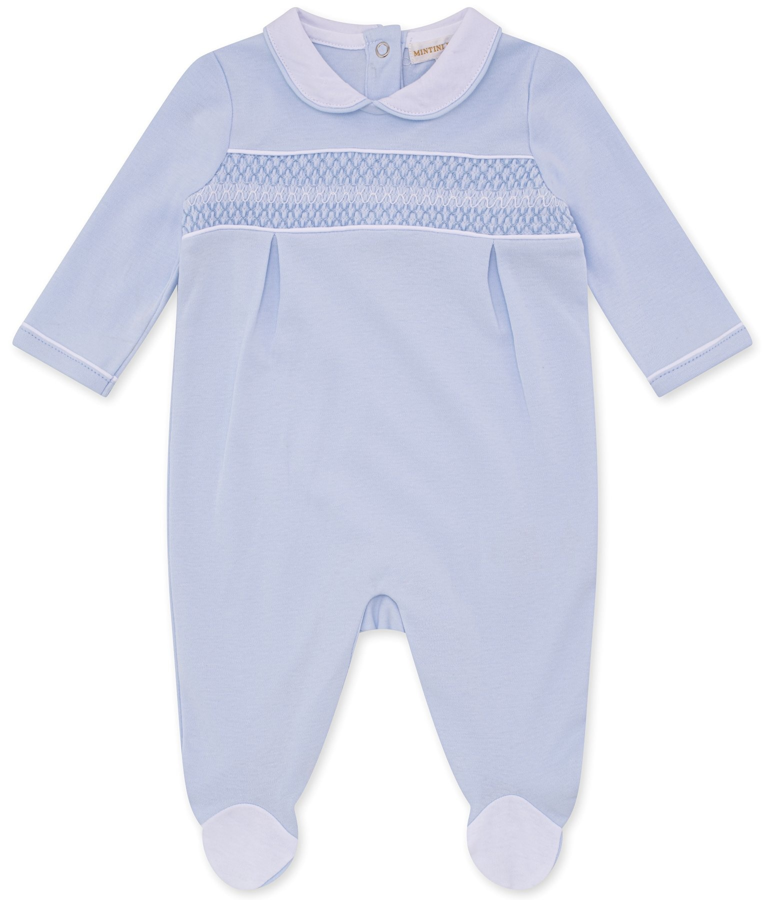 Mintini Mintini Boys Blue Traditional All In One