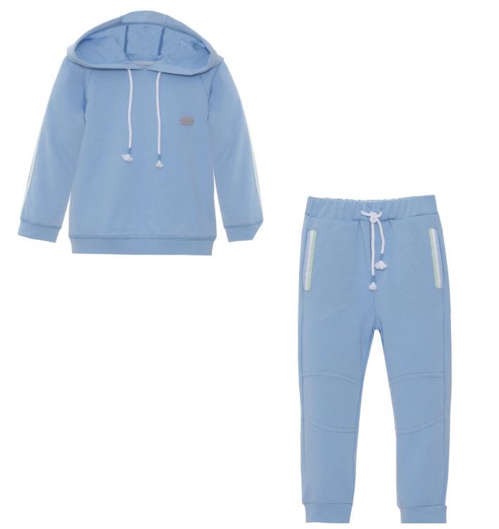 Patachou Patachou Boys Deep Blue Sweater Set 3328 S21