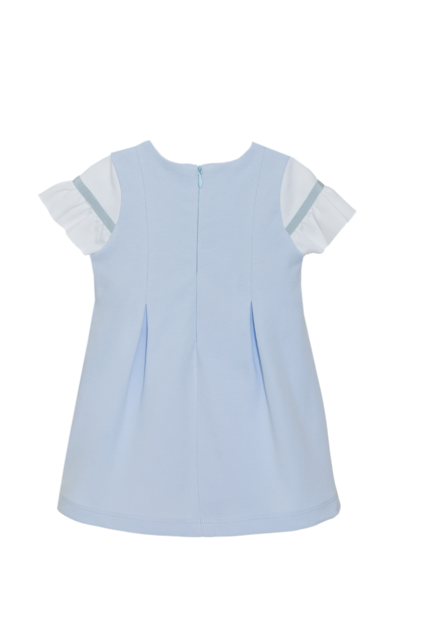 Patachou Patachou Cotton Chest Frill Dress 3229 S21