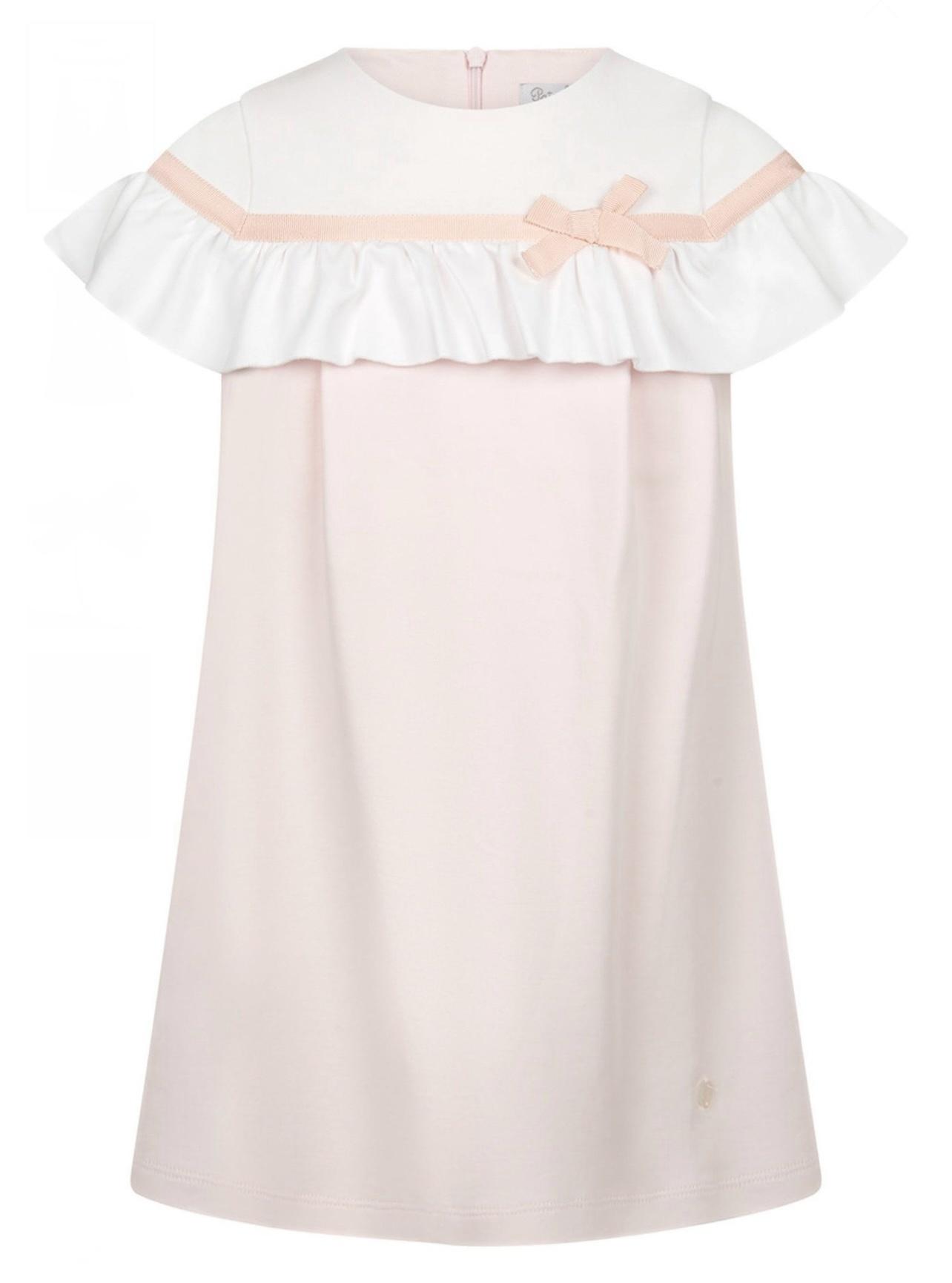 Patachou Cotton Chest Frill Dress 3229 S21