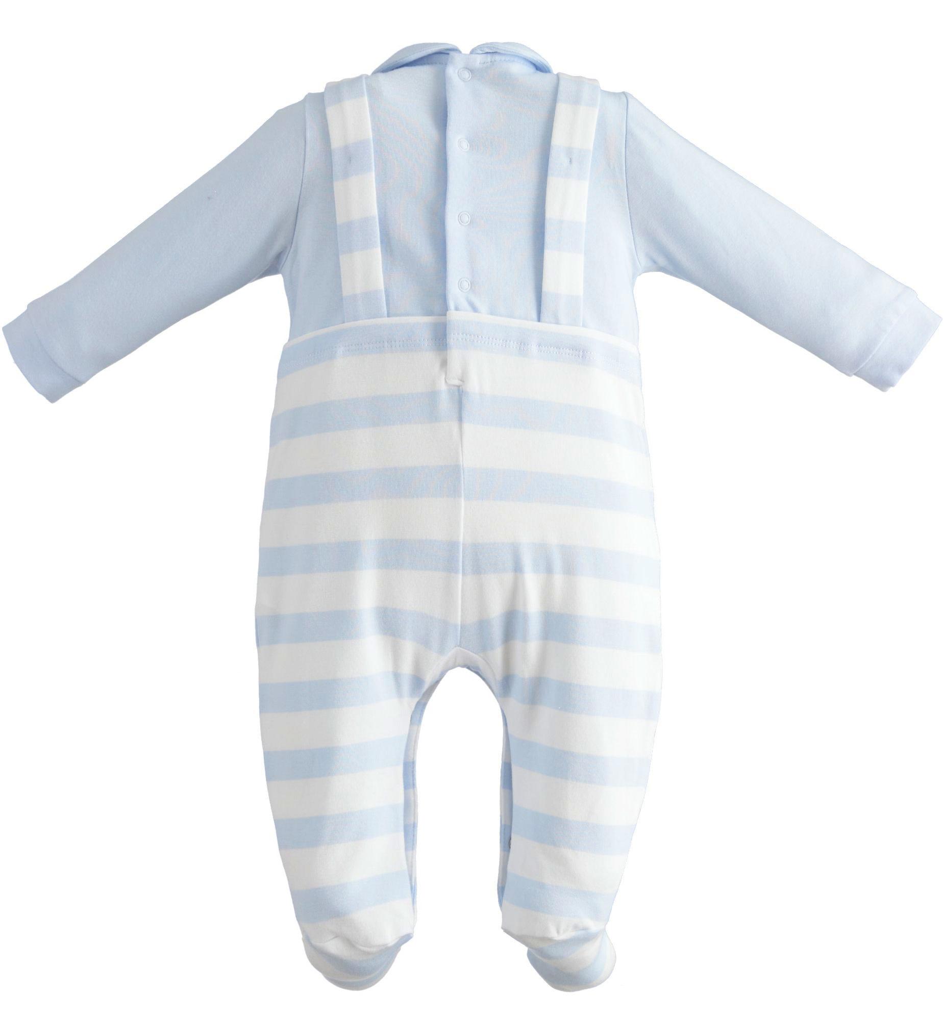 Ido Ido Lion Stripe Summer Babygrow 2184 S21
