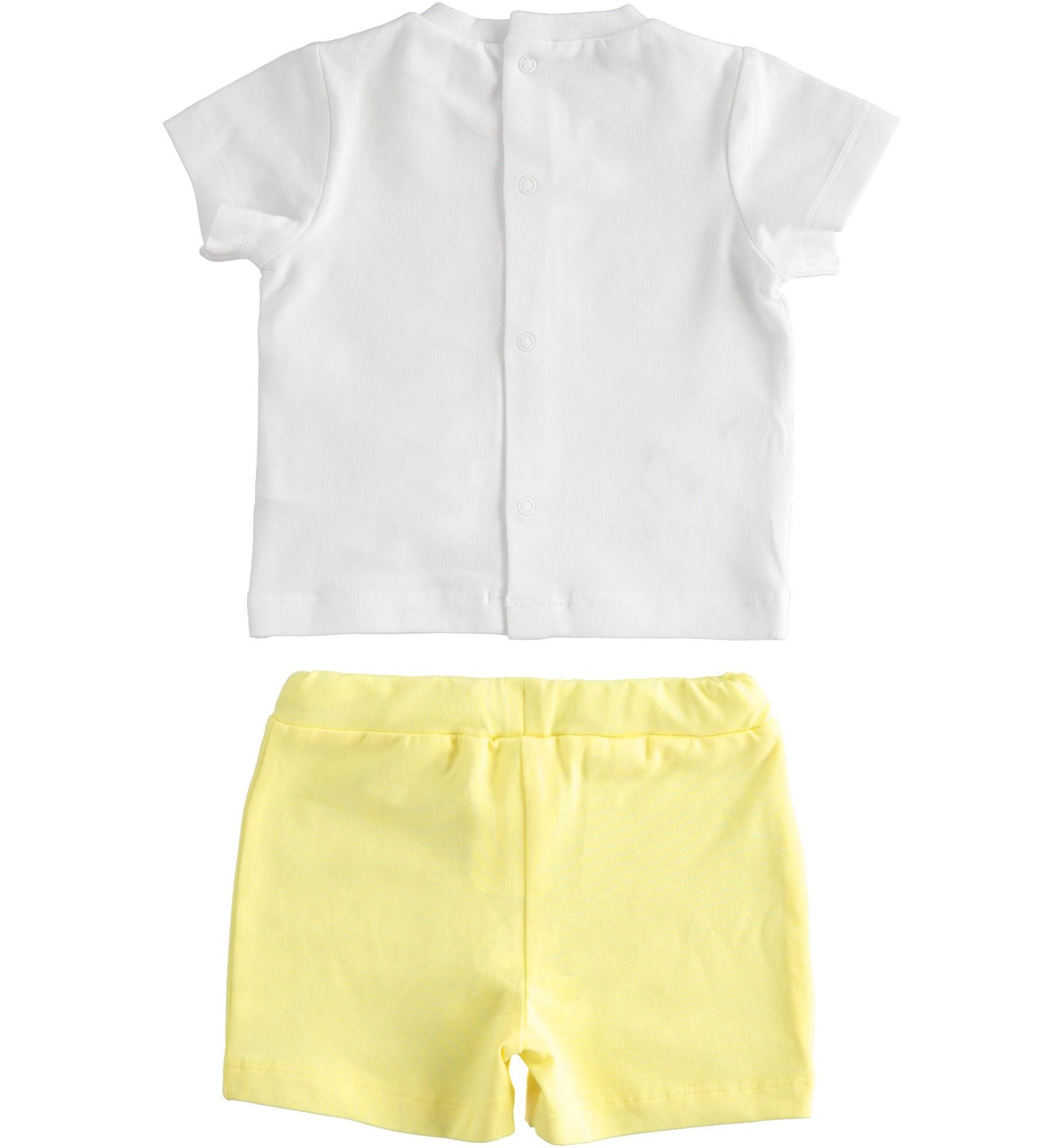 Ido Ido Summer Bunny Boy Short Set 2091 S21