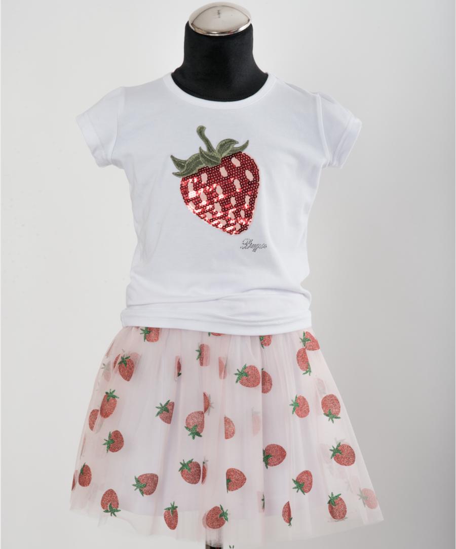 Daga Daga Strawberry Skirt & Jacket 8365 S21